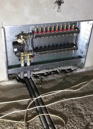 Замена водопроводных труб, монтаж водопровода