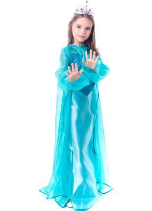 """Детский карнавальный костюм """"Эльза Холодное сердце"""""""