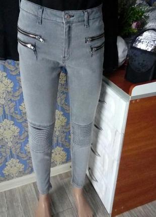 💝1+1=3 узкие скини джинсы zara💝