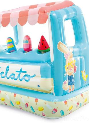 """Детский надувной игровой центр """"Мороженное"""" 48672, 127x102x99"""