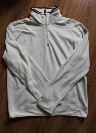 Теплая флисовая кофта на холодную погоду супер бренд moncler