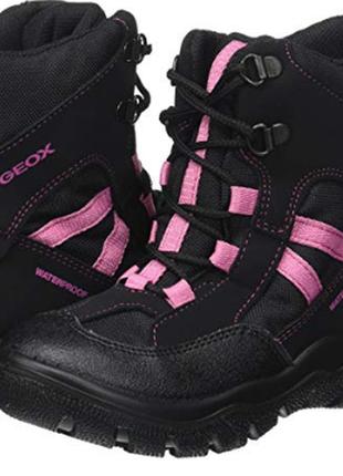 Зимние непромокаемые ботинки geox, оригинал , 30 размер