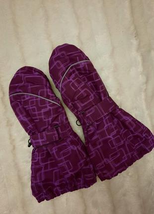 Теплые рукавицы краги