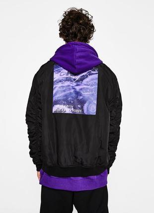 Стильная куртка ветровка бомбер