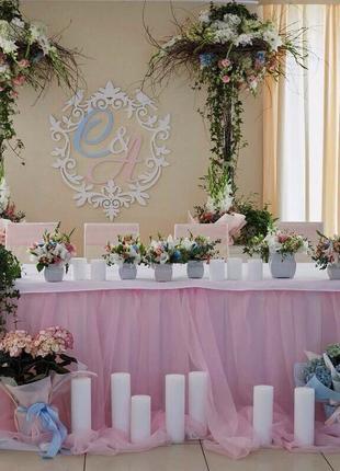Свадебное оформление. Доставка цветов