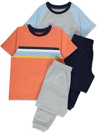 Пижамы мальчику со штанами george. 13-14 лет.