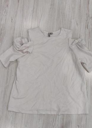 👑♥️final sale 2019 ♥️👑  трикотажная белая блуза плотная спорти...