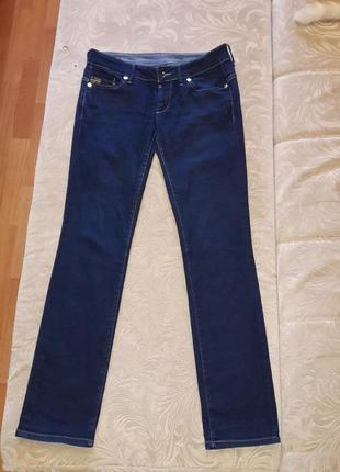Синие джинсы оригинал низкая посадка