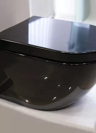 Унитаз подвесной NEWARC Modern (3823B) черный