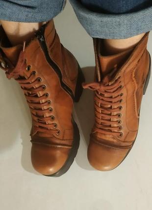 Ботинки, ,легкие, стильные, цена на всю обувь снижена до 15.02...