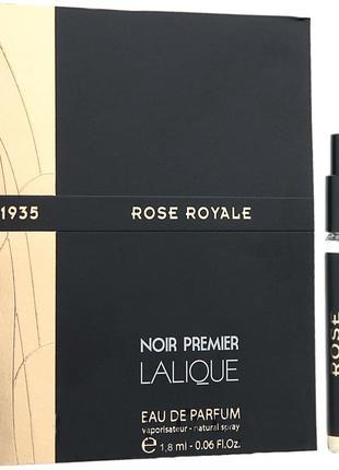 Lalique Rose Royale 1935_Оригинал EDP_3 мл затест_парф.вода