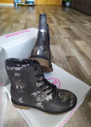 Деми ботинки с германии сапоги