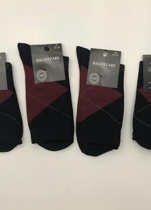 Мужские носки 25-27-29 хлопок 70% ПА 25% Элостан 5%