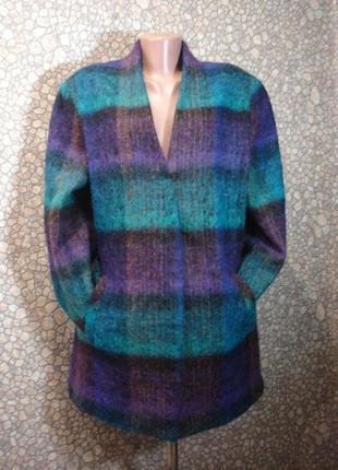 Модное шерстяное пальто (короткое )