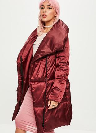 Бордовая куртка одеяло