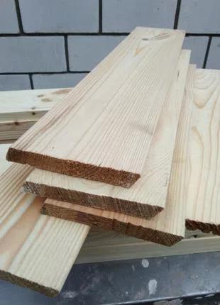 Планкен Ромбус скошенный деревянный Сосна 20х140 мм. доставка
