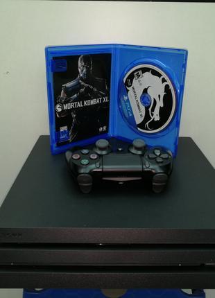 Приставка Sony Playstation 4 Pro 1tb (PS 4 Pro) +диск с игрой