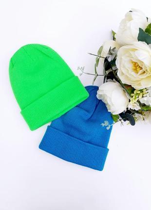 Шерстяная шапка для мальчика теплая шапка