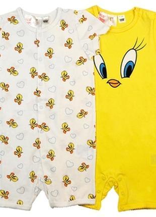 Красивая пижама на девочку 2шт. h&m 92см