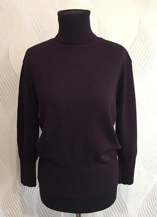 Базовый шерстяной гольф свитер cerruti 1881 оригинал