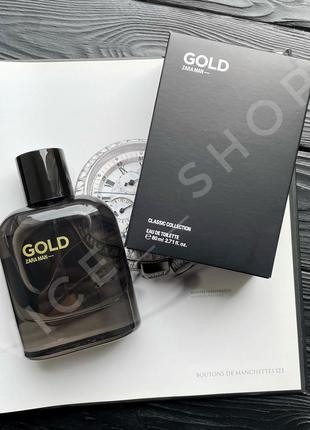 Zara gold духи парфюм парфюмерия туалетная вода испания оригинал