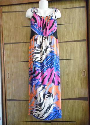 Платье сарафан «в пол» george размер 18(46)– идет реально 52-54.
