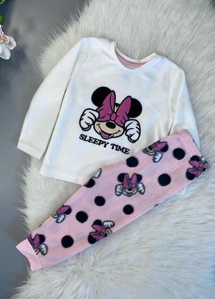 Пижама на девочку флис