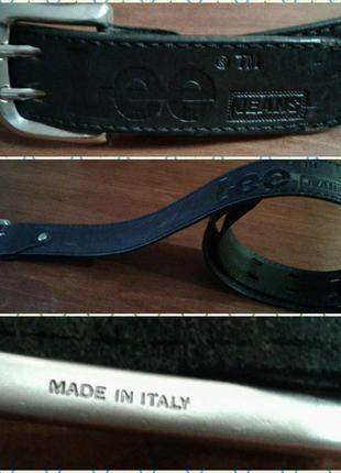 Кожаный ремень италия