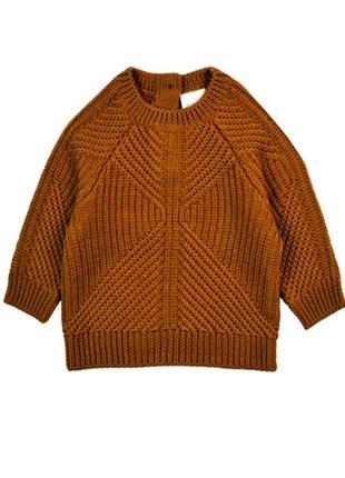 Теплый шерстяной свитер на мальчика h&m  premium quality 50см,...