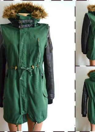 Fb sister new yorker куртка парка  размер xs-s