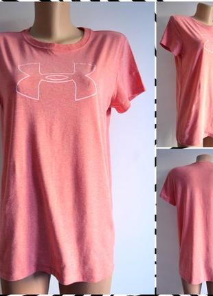 Under armour ® heatgear женская футболка размер m-l