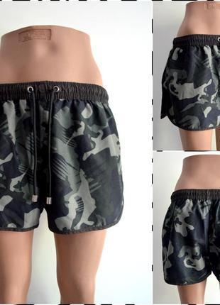 Zara ® мужские спортивные шорты с вшитыми сетчатыми трусами
