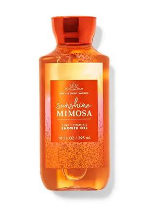 Гель для душа Sunshine Mimosa Bath and Body Works оригинал сша
