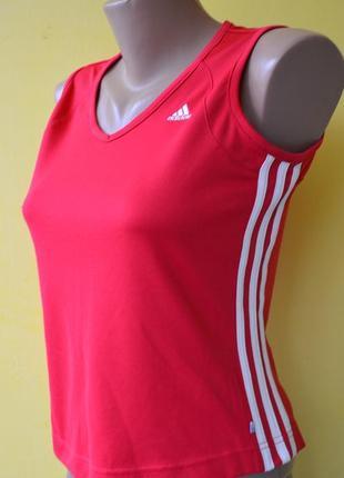 Adidas climalite женская спортивная майка