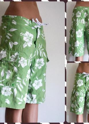 Яркие шорты с вшитыми сетчатыми трусиками размер s