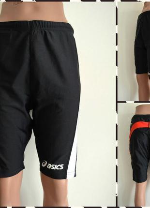 Asics эластичные спортивные шорты размер l