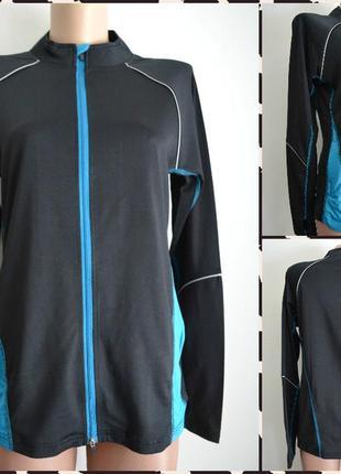 Женская спортивная кофта для бега и фитнеса размер  m