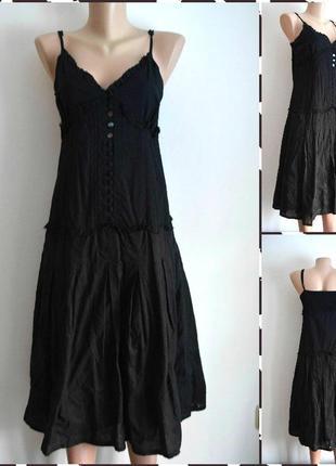 Papaya черное платье размер м