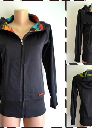 Ntro ® спортивная кофта (олимпийка женская)  с оригинальным ка...