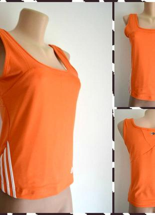 Adidas ® climalite женская спортивная майка размер s- м