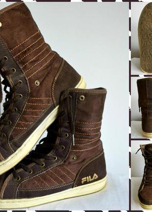 Fila ® стильные и практичные кеды ботинки известнейшего бренда...