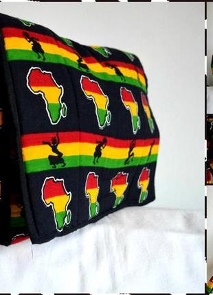 Удобная регги сумка африка цвет: разноцветный размер: one size