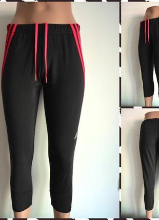 Adidas ® женские спортивные бриджи (тайтсы, леггинсы) размер м