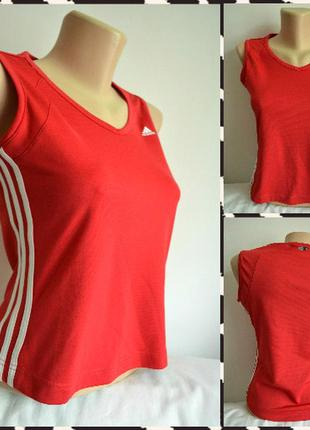 Adidas ® climalite женская спортивная майка размер м