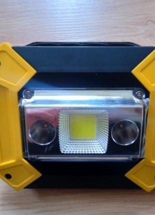 Аккумуляторный светодиодный LED прожектор Powerbank