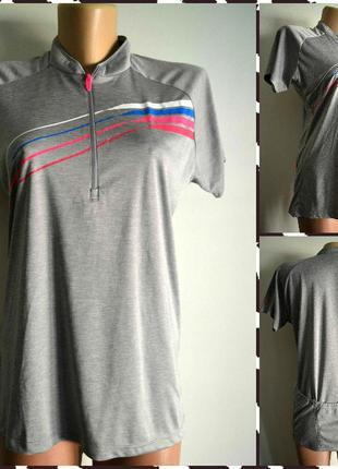Ziener ® футболка для велоспорта (велофутболка) размер: m-l