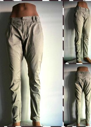 N+1 jeans ®  модные штаны c мотней  размер s