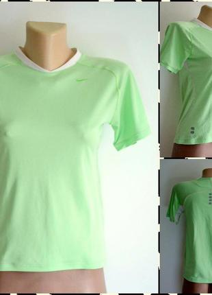 Nike ® dry fit  спортивная футболка размер s