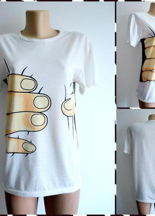 Оригинальная футболка  размер s-m
