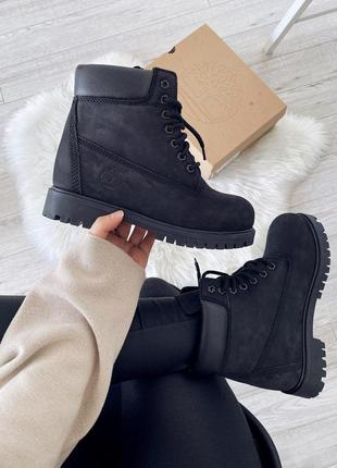 Шикарные женские ботинки timberland 6-inch premium waterproof ...